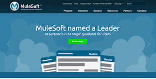 Website Review: 10 Hottest B2B SaaS Companies in 2014 image mulesoft resized 600