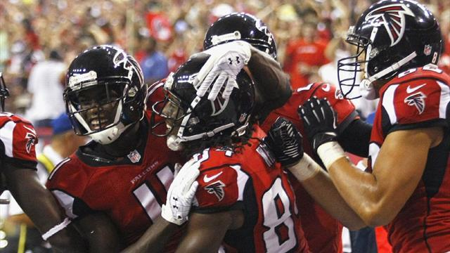 Falcons bring Manning and Broncos back to earth