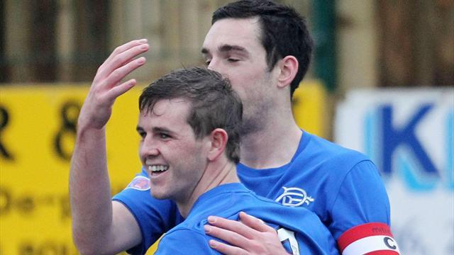 Scottish Football - Rangers score four in comfortable win