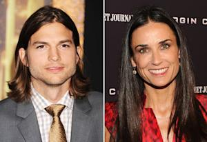 Ashton Kutcher, Demi Moore Have Run-In at Pre-Golden Globes Bash