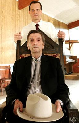 Bill Paxton and Harry Dean Stanton HBO's 'Big Love'