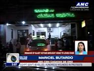 The remains of some of those killed in Friday's blast in Cagayan de Oro City have been brought home to their respective provinces. ABS CBN Cagayan De Oro's Maricel Butardo reports. For more news, click here.