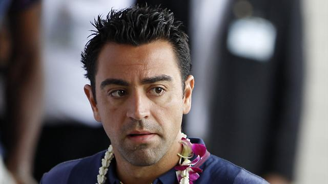 Liga - Injured Xavi a doubt for La Liga game against Granada