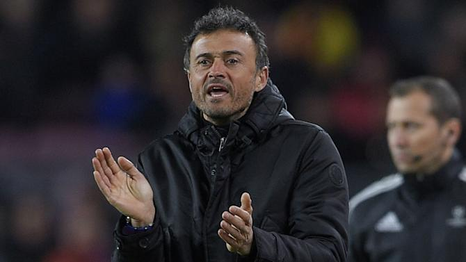 Luis Enrique wants more after Barcelona hit Roma for six