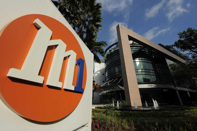 M1 was just fined $10,000 last month for not meeting Quality of Service standards. (File photo)