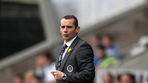 Danny Lennon has yet to beat Celtic