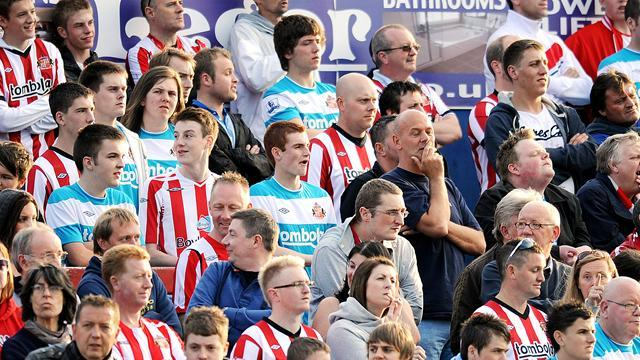 Premier League - Sunderland ban fans for standing