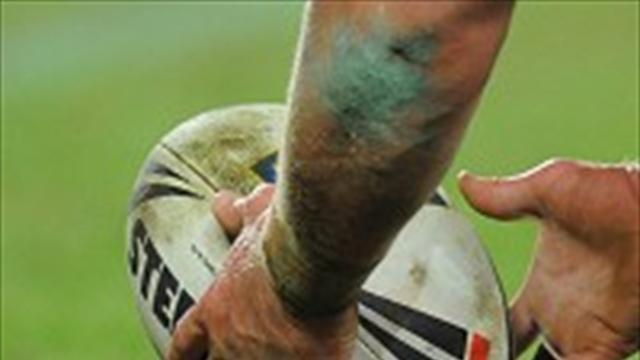 Rugby League - Halifax top table with Hunslet win