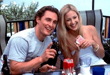 Matthew McConaughey and Kate Hudson in Paramount's How To Lose A Guy In 10 Days