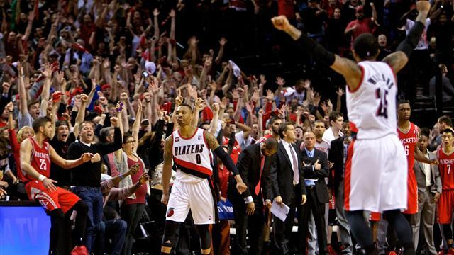 NBA - Blazers finish off Rockets, Nets and Mavs force Game Sevens