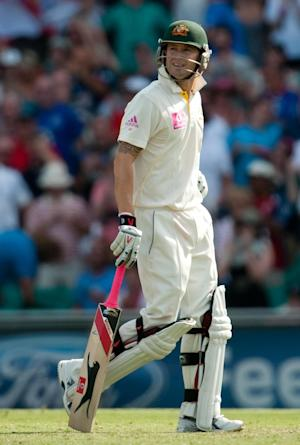 Michael Clarke, pictured, backed Mitchell Starc for the final team spot in Australia's first Test against Sri Lanka