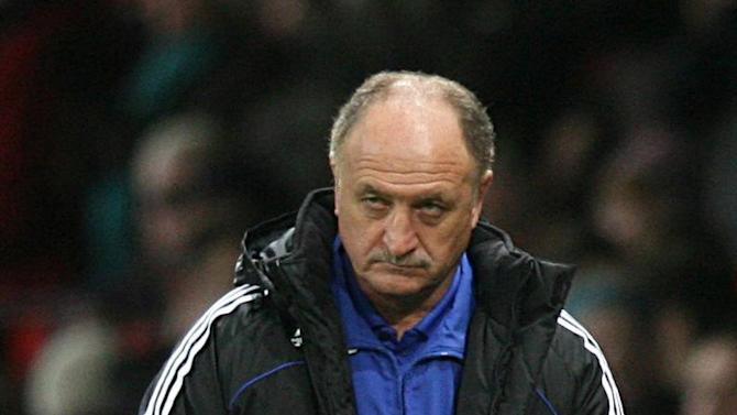 Luiz Felipe Scolari says he is not feeling the pressure after taking over as Brazil boss