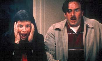 Courteney Cox and David Arquette in Dimension's Scream 3