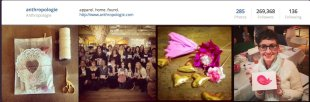 Content Marketing with Instagram: 5 Takeaways From a Brand to Watch image content marketing anthropologie instagram
