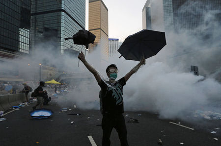 Special Report: In 'Umbrella Revolution,' China confronts limits of its power - Yahoo News