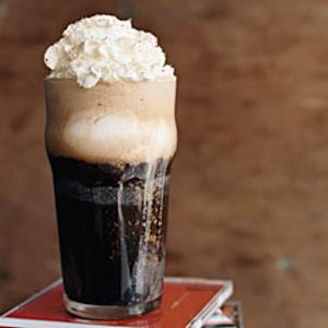 Ice cream float --