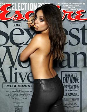 Mila Kunis Named Sexiest Woman Alive By Esquire