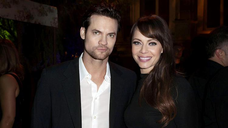 "Shane West and Melinda Clarke of ""Nikita"" attend The CW Fall Premiere party presented by Bing at Warner Bros. Studios on September 10, 2011 in Burbank, California."