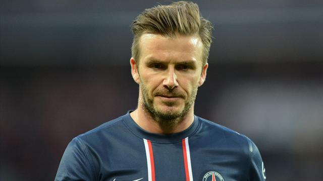 Ligue 1 - Beckham sent off in PSG win