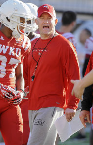 Jeff Brohm, Western Kentucky. (Photo: AP)