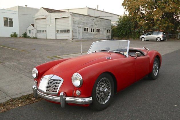 1959 MGA roadster 361 picture