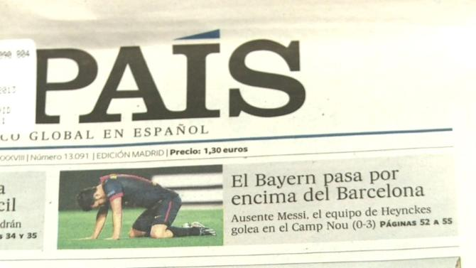 Spanish football mired in doubt