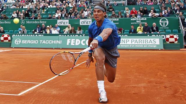 Tennis - Nadal recovers from shaky start to reach Monte Carlo third round