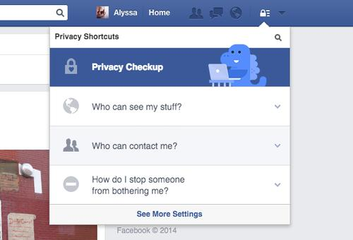 Facebook's Privacy Checkup