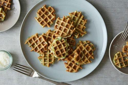 Zucchini Bread? Try Zucchini Waffles