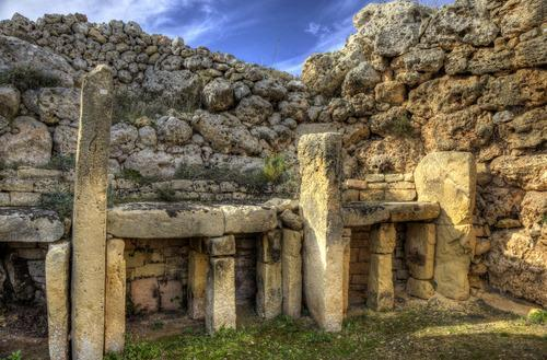 ancient ruins in Gozo