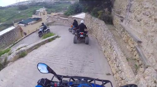 sightsee on four wheeler in Gozo
