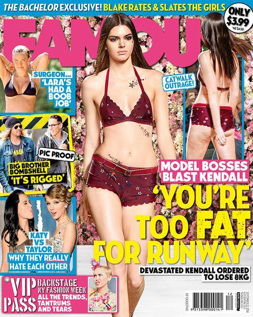 Kendall Jenner's Fat Shaming Is Bad News for Everyone