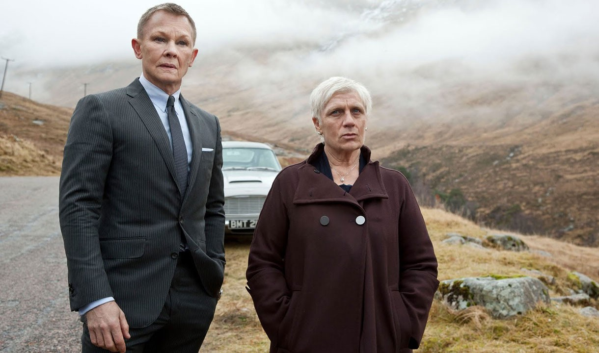 Skyfall: Daniel Craig and Judi Dench