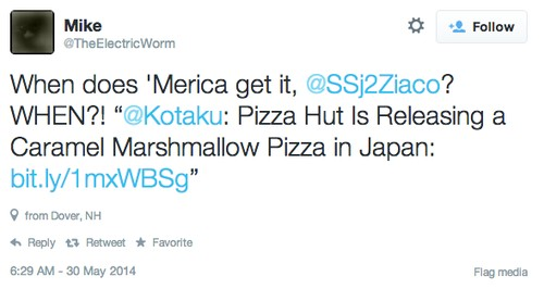 do you want to eat pizza hut s marshmallow dessert pizza