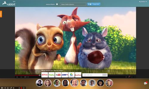how to connect rabbit to netflix
