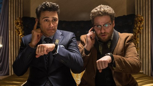 The Interview via Yahoo Movies