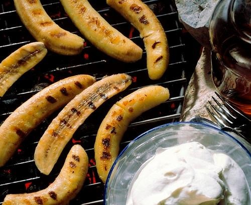 Bananas Foster, On the Grill