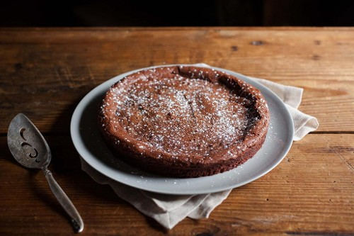Almost Flourless Chocolate Cake from Food52
