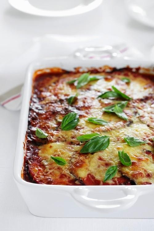 Baked Eggplant Parmesan Won't Put You In a Coma
