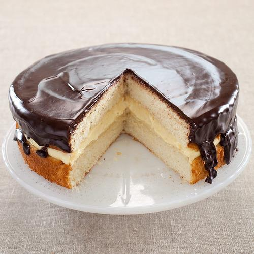 Wicked Good Boston Cream Pie from Cook's Illustrated