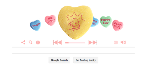 Google Fills Its Home Page with Stories of Love from 'This American Life'