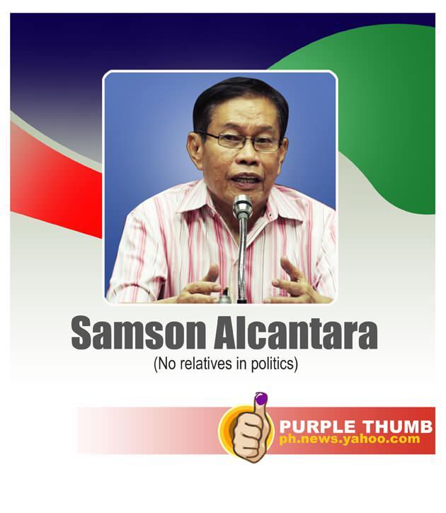 Samson Alcantara family tree