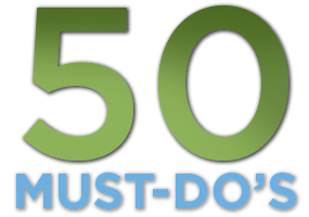 50 Must-Do's