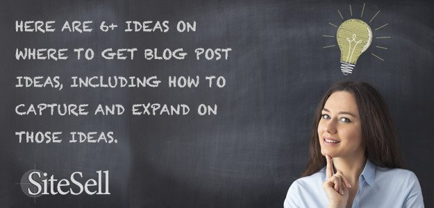 The Best Places To Get Blog Post Ideas