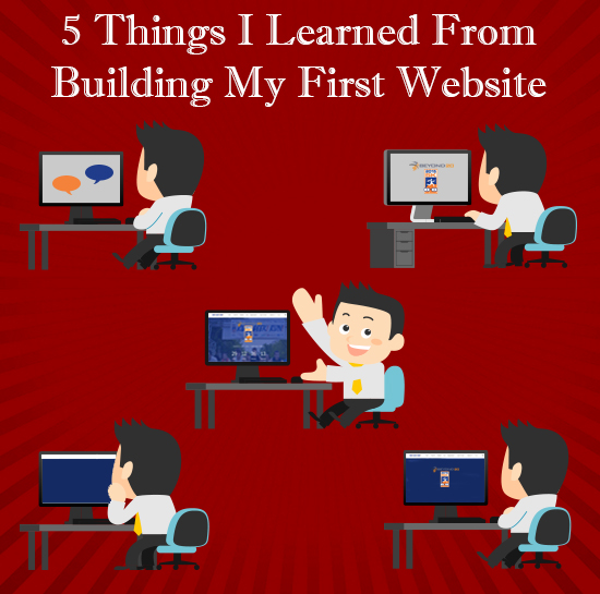 5 lessons i learned from building my first website