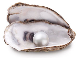 To get to the pearl you must open the shell