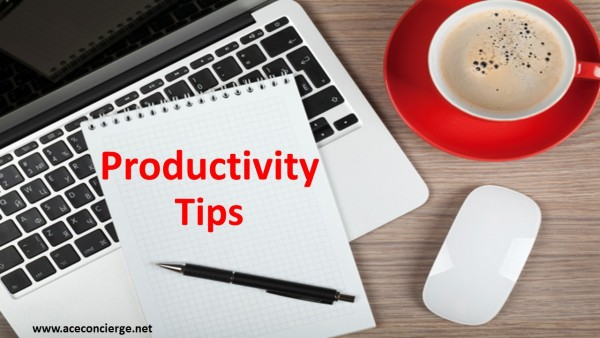 Ace Concierge Productivity Tips