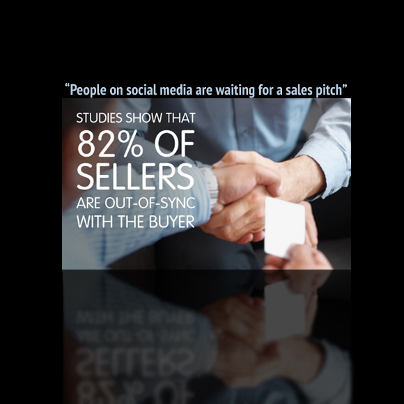 People on Social Media Are Waiting for a Sales Pitch