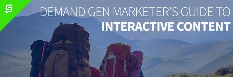 demand gen marketer's guide to interactive content