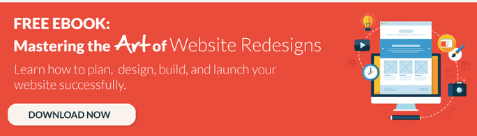 website redesign ebook cta